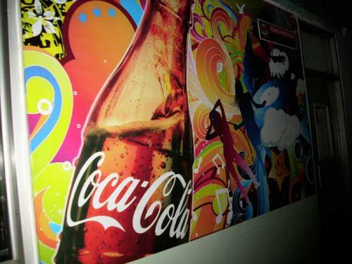 Coke Factory Branding 1